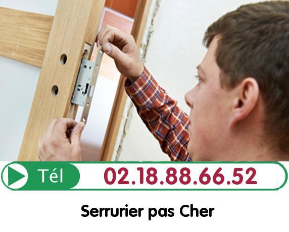 Installation Porte Blindée Cantiers 27420