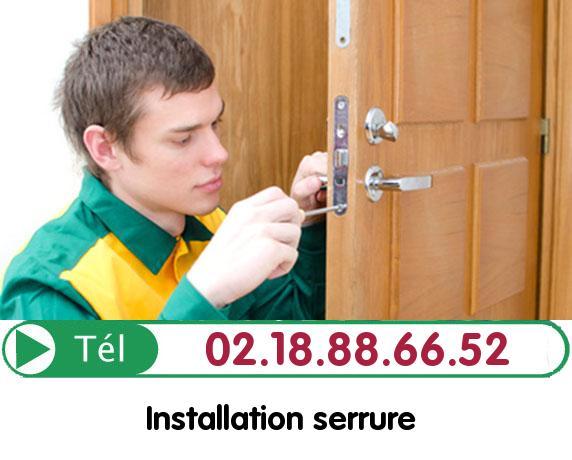 Installation Porte Blindée Écos 27630