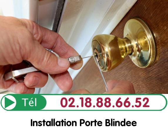 Installation Porte Blindée Vitot 27110